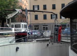 Stazione di Sestri Ponente con cassa automatica