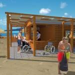 Chiavari, una spiaggia per disabili, Sindaco chiede aiuto alle Banche