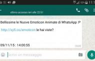 WhatsApp, le nuove Emoticon animate sono un virus per smartphone