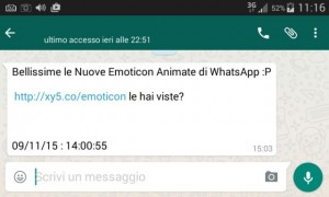 Whatsapp nuove emoticon virus