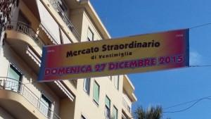 Ventimiglia, apertura straordinaria del Mercato del Venerdì