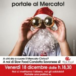 Savona, venerdì 18 dicembre sarà addobbato l'albero di Natale al Mercato Civico