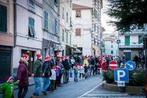 I cittadini di Campomorone in festa