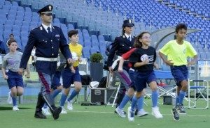 Stadio Olimpico di Roma, un'immagine del giorno della presentazione del progetto