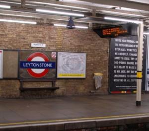 Stazione Metro di Leytonstone a Londra