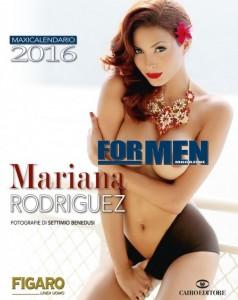 Mariana Rodriguez hot nel nuovo calendario