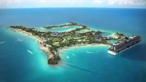 Msc Crociere affitta un'isola alle Bahamas