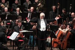 Nella foto, il direttore d'orchestra Pietro Borgonovo