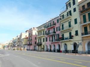 Imperia, uno scorcio di calata Cuneo