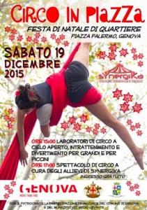 """Il manifesto del """"Circo in Piazza"""""""