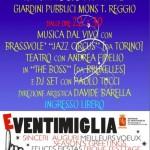 """Ventimiglia, Capodanno all'insegna del divertimento ai giardini """"Tommaso Reggio"""""""