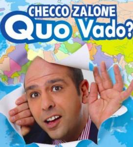 """Nella foto, la locandina di """"Quo Vado?"""""""