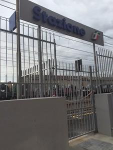 Nella foto, uno dei nuovi ingressi della Stazione ferroviaria di Sestri Ponente