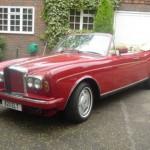 Auto all'asta, tra i modelli in vendita c'è la Bentley di Elton John