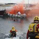 Diano Marina – Brucia una barca in porto, ma è un'esercitazione