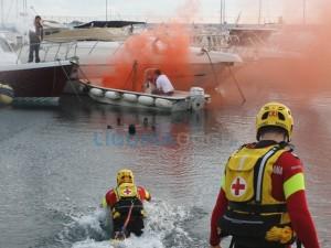 Esercitazione anti incendio a Diano Marina
