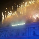 Fuochi d'artificio e degustazioni in piazza De Ferrari prima della Traviata