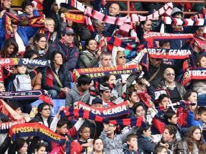 Genoa, Sturaro e Lakicevic alla Basko di Molassana per incontrare i tifosi