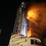 Dubai, hotel Address Downtown in fiamme a Capodanno, 1 morto e 15 feriti