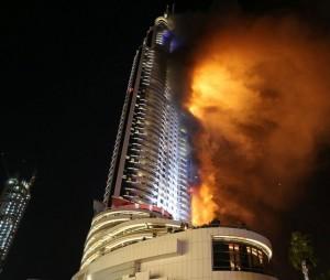 Incendio hotel Dubai
