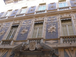 Inaugurazione dell'anno floreale EDFA, a Palazzo Lomellino composizioni floreali ispirate al Piola