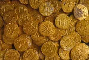 dobloni d'oro spagnoli