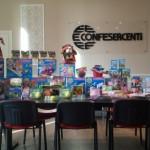 Genova, 500 euro di giocattoli donati dalla Confesercenti a Sant'Egidio e devoluti a famiglie bisognose