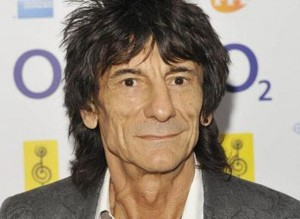 Ronnie Wood padre a 68 anni