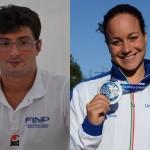 Premio Sportivo Ligure dell'Anno, premiati i nuotatori Francesco Bocciardo ed Erica Musso