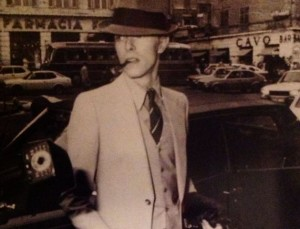 David Bowie a Genova nel 1976