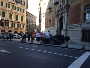 Nella foto, uno scatto dello sciopero di martedì 12 gennaio