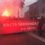 Ilva – Oggi il maxi corteo con ruspe e camion, rischio blocco della città