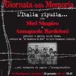 """Savona, tutte le iniziative per la """"Giornata della Memoria"""". Eventi in teatri, biblioteche e musei"""
