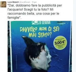 Luca Bizzarri contro la pubblicità dell'Acquario