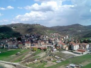 Nella foto, una veduta di Cengio (Savona)