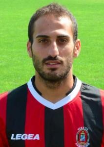 Nella foto, Antonio Piccolo, nuovo attaccante dello Spezia