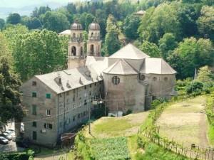 Nella foto, il Santuario di Nostra Signora dell'Acquasanta