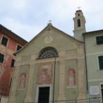 Bogliasco, crollata volta della Chiesa della Confraternita di Santa Chiara a causa del vento forte
