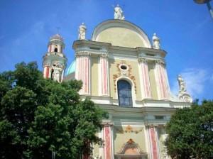 Nella foto, la facciata della Chiesa di S. Giovanni Battista
