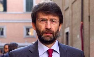 Nella foto, il ministro della Cultura Dario Franceschini