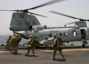 USA, scontro tra elicotteri dei Marines