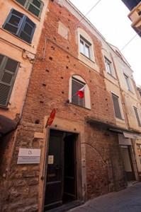 """Nella foto, Palazzo """"Scotto Niccolari"""""""