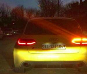 Treviso, ritrovata in fiamme l'Audi Gialla