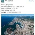 Porto di Genova, dati positivi su traffici merci e passeggeri nel 2015. Attesi oggi dati ufficiali