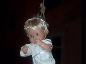 bambin Gesù impiccato a Pitelli