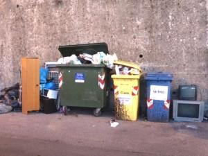 Sciopero raccolta differenziata a Genova