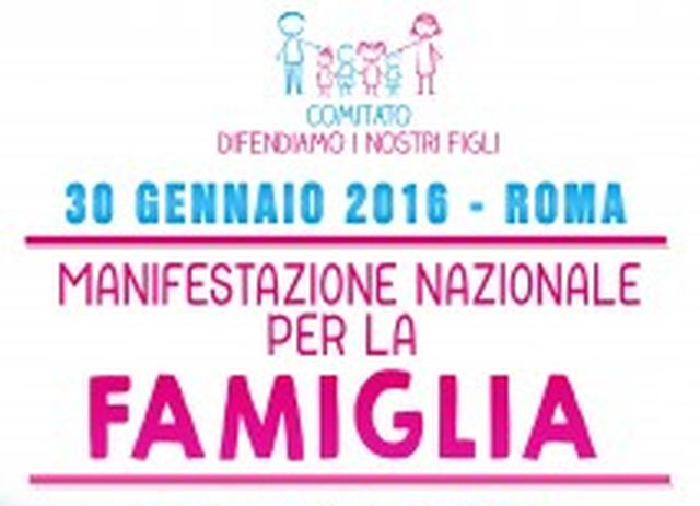 Family Day, Gay Center: sconti treni e bus, famiglie prese in giro