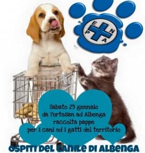 Albenga, domani la giornata a favore degli animali in difficoltà
