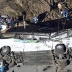 Giappone – Pullman carico di turisti precipita in burrone, 14 morti