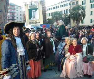 """Savona,  domani il """"Carnevale di Savona"""" e la maschera """"Cicciolin"""""""